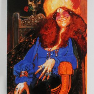 Janis Joplin Giclee Signed by Artist Sebastian Kruger 27x41 LE 49/99