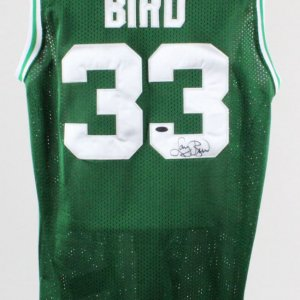 Larry Bird Signed Jersey Boston Celtics - COA Steiner