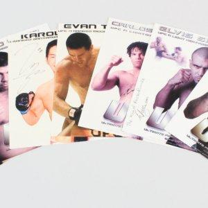 UFC Signed 8x10 Photos (7) - Randy Couture, Evan Tanner (DEC), etc. - JSA