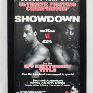 UFC 14: Showdown Mark Coleman vs. Maurice Smith Fight Poster SEG