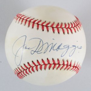 Joe DiMaggio Signed Baseball New York Yankees - JSA Full LOA