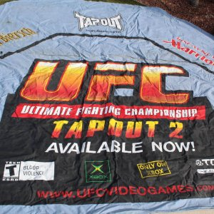 UFC 42 Sudden Impact Fight Used Octagon