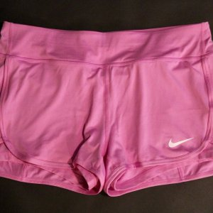 A Victoria Azarenka Game-Used Custom Nike Tennis Shorts.  2015 French Open Roland Garros.