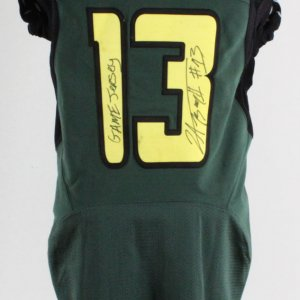 Jerome Boyd Game-Used Jersey 2006-07 Oregon Ducks Signed