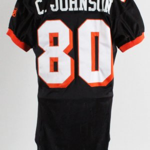 Chad Johnson Game-Used Jersey 2001 Fiesta Bowl Oregon State