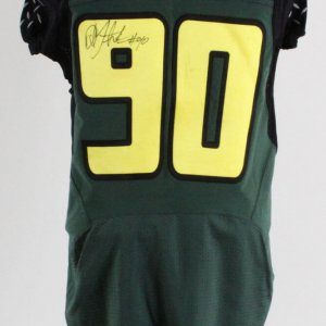 David Faaeteete Game-Used Oregon Ducks Jersey 2006 Signed