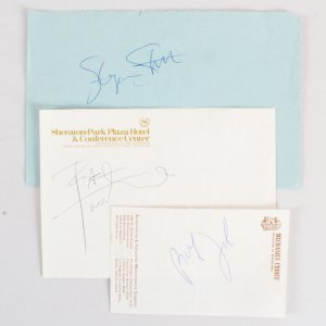Celebrity Signed Lot (3) - Steven Stills, etc. - JSA