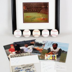 MLB Signed Lot (15) - Harmon Killebrew, Pete Rose, etc. - JSA
