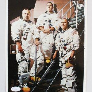 Astronaut Frank Borman Signed Photo - COA JSA