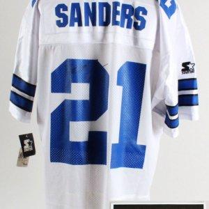 Dallas Cowboys Deon Sanders & Woodson - COA JSA