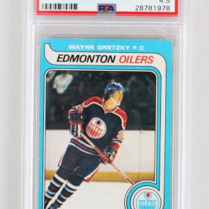 Wayne Gretzky Oilers Opee-Chee Rookie Card