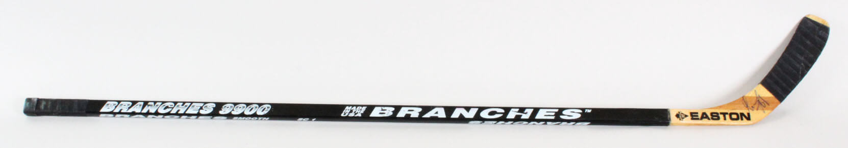 Alexander Mogilny Game-Used Hockey Stick Signed