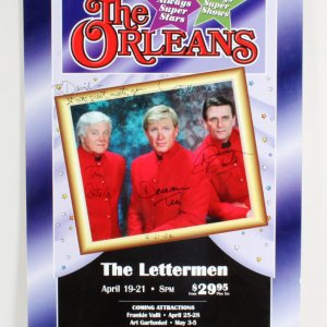 The Letterman Multi-Signed Poster - COA JSA