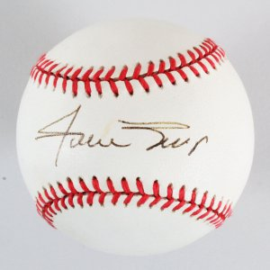 Willie Mays Signed Baseball - COA JSA