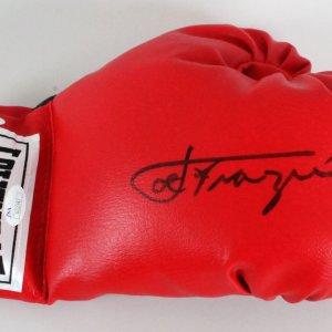 Joe Frazier Signed Boxing Glove - COA JSA