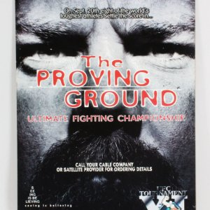 UFC 11 On-Site Poster The Proving Ground
