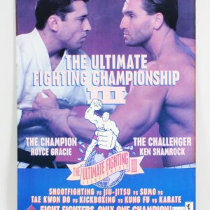 UFC 3 On-Site Poster 24x36 The American Dream