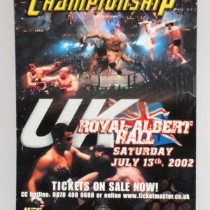 UFC 38 On-Site Poster Brawl at the Hall