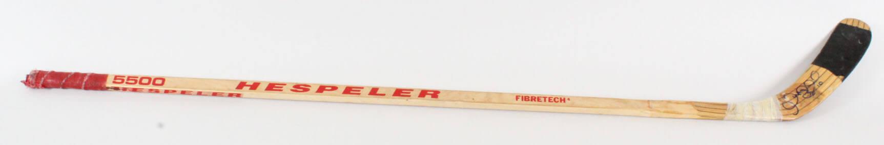 Gary Roberts Game-Used Hockey Stick Signed