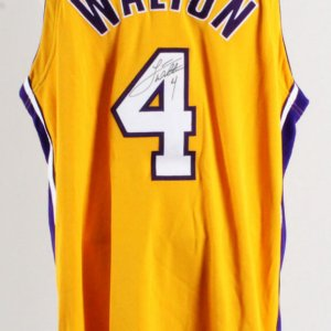 Luke Walton Signed Los Angeles Lakers Game Jersey