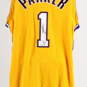 Smush Parker Signed Game Los Angeles Lakers Jersey