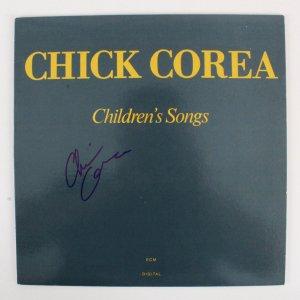 Chick Corea Signed Record Album - COA JSA