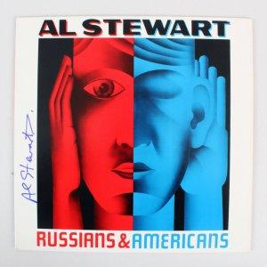 Al Stewart Signed Record Album - COA JSA