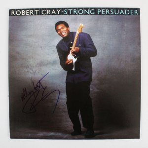 Robert Cray Signed Record Album - COA JSA