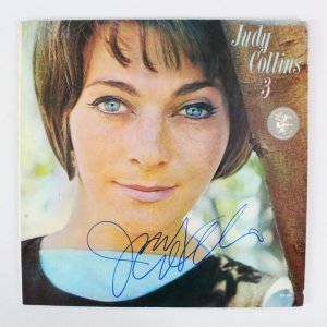 Judy Collins Signed Record Album - COA JSA