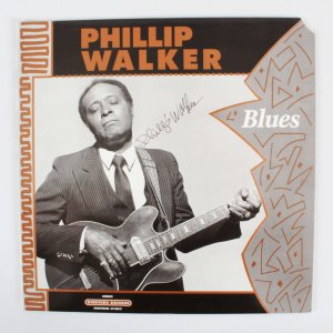 Phillip Walker Signed Record Album - COA JSA