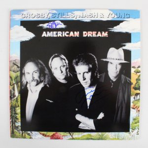 Stephen Stills & Graham Nash Signed Record Album - COA JSA