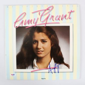 Amy Grant Signed Record Album - COA PSA/DNA