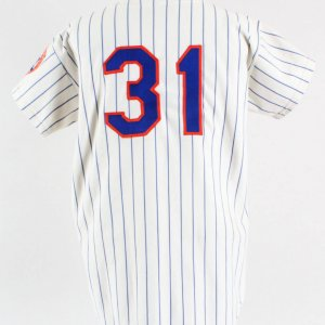 1973 Harry Parker Game-Worn Jersey, Mets COA 100% Team Grade: 9/20