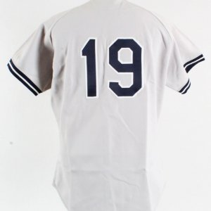 1981 Don Mattingly Game-Worn Jersey, Columbus Clippers Road COA 100% Team Grade 9/20