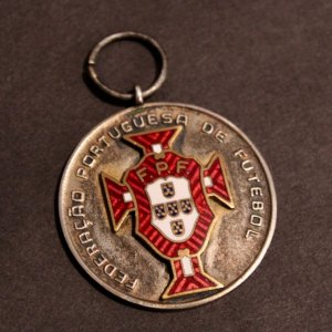 An S.L. Benfica (Eusebio) Player's League Winners Medal.  1967/1968 1st Division.