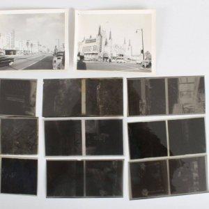 Hollywood Nightclubs & Studios Photo Negatives (10) & (2) Photos Vintage