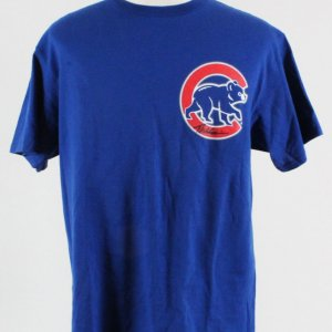 Theo Epstein Signed Cubs T-Shirt - COA PSA/DNA