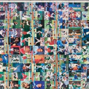 1991 Stadium Club Baseball Cards- Full Uncut Sheet
