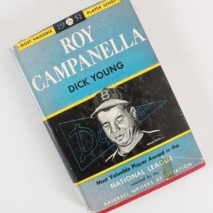 Roy Campanella Signed Book - COA JSA