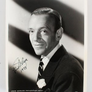 Fred Astaire Signed Photo - COA JSA