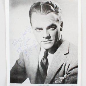 James Cagney Signed Photo - COA JSA