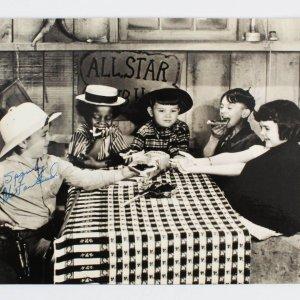 Spanky McFarland Signed Photo - COA JSA