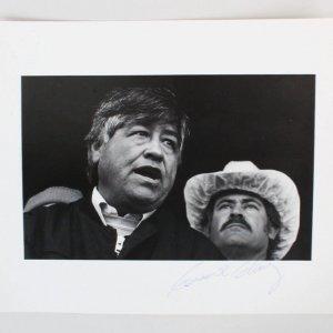 Cesar Chavez  Labor Leader Signed Photo - COA JSA