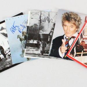 Musician Signed CD Covers Lot (7) - COA JSA