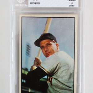 1953 Bowman Ralph Kiner Graded Card - BCCG 8