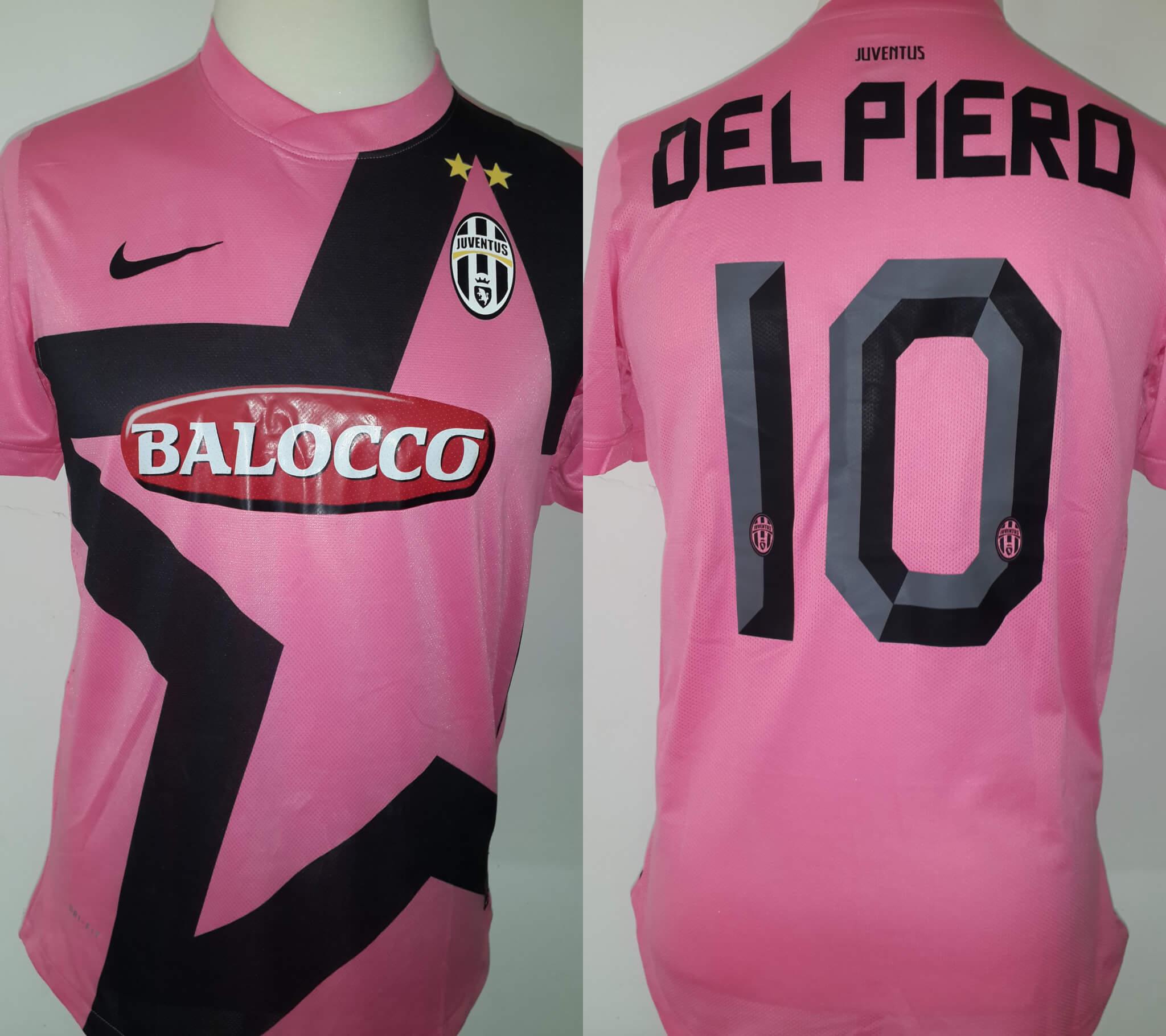 e3295d738e5 Alessandro Del Piero Game-Used  10 Away Shirt 2011 12 Italian Juventus  Serie A Season