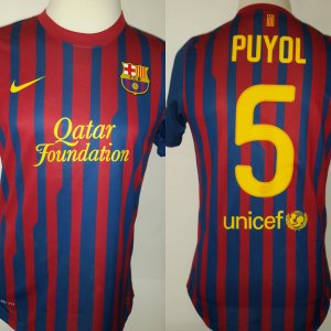 A Lionel Messi Game-Issued #10 FC Barcelona Home Shirt FIFA Club World Cup Semi-Final vs Guangzhou Evergrande FC 12/17/2015