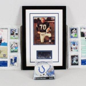 Indianapolis Colts Signed Lot - COA JSA