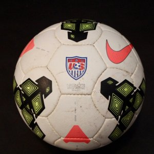 A US Women's National Team Game-Used Match Ball.  2014/15.