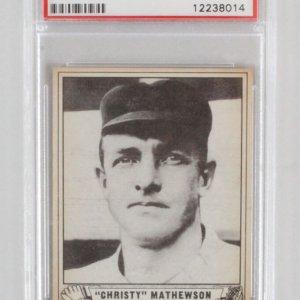 1940 Play Ball Christy Mathewson Graded Card #175 - PSA 7